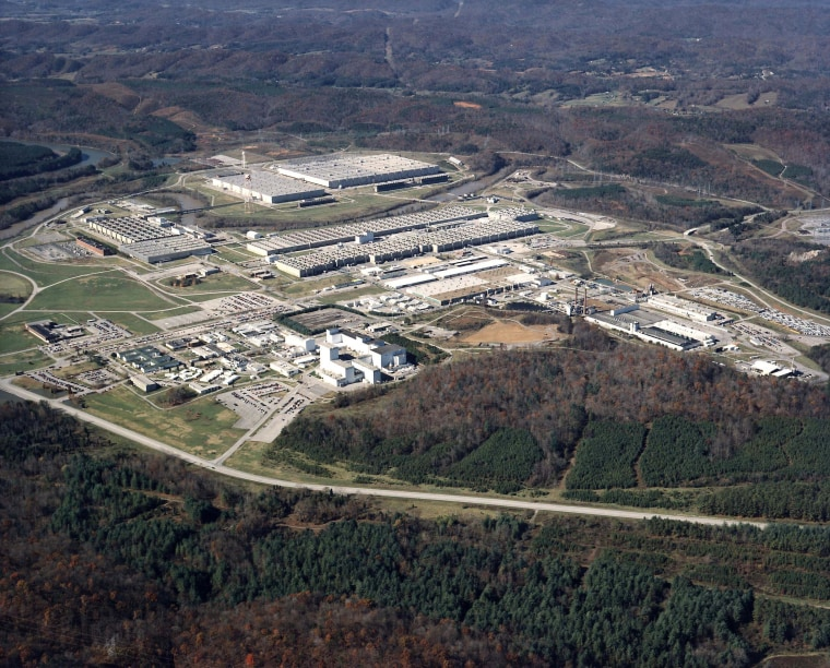 Image: A view of the East Tennessee Technology Park, a site within the Oak Ridge National Laboratory