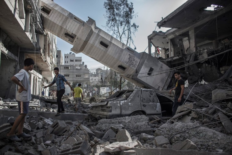 Image: Israeli airstrikes in Gaza City