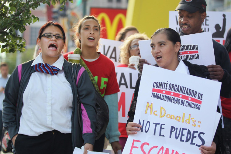A ruling that McDonald's could be equally liable for unfair labor practices as individual franchise owners, could embolden organized labor.