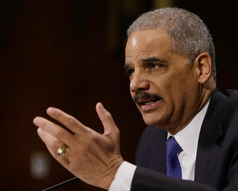 Image: U.S. Attorney General Eric Holder