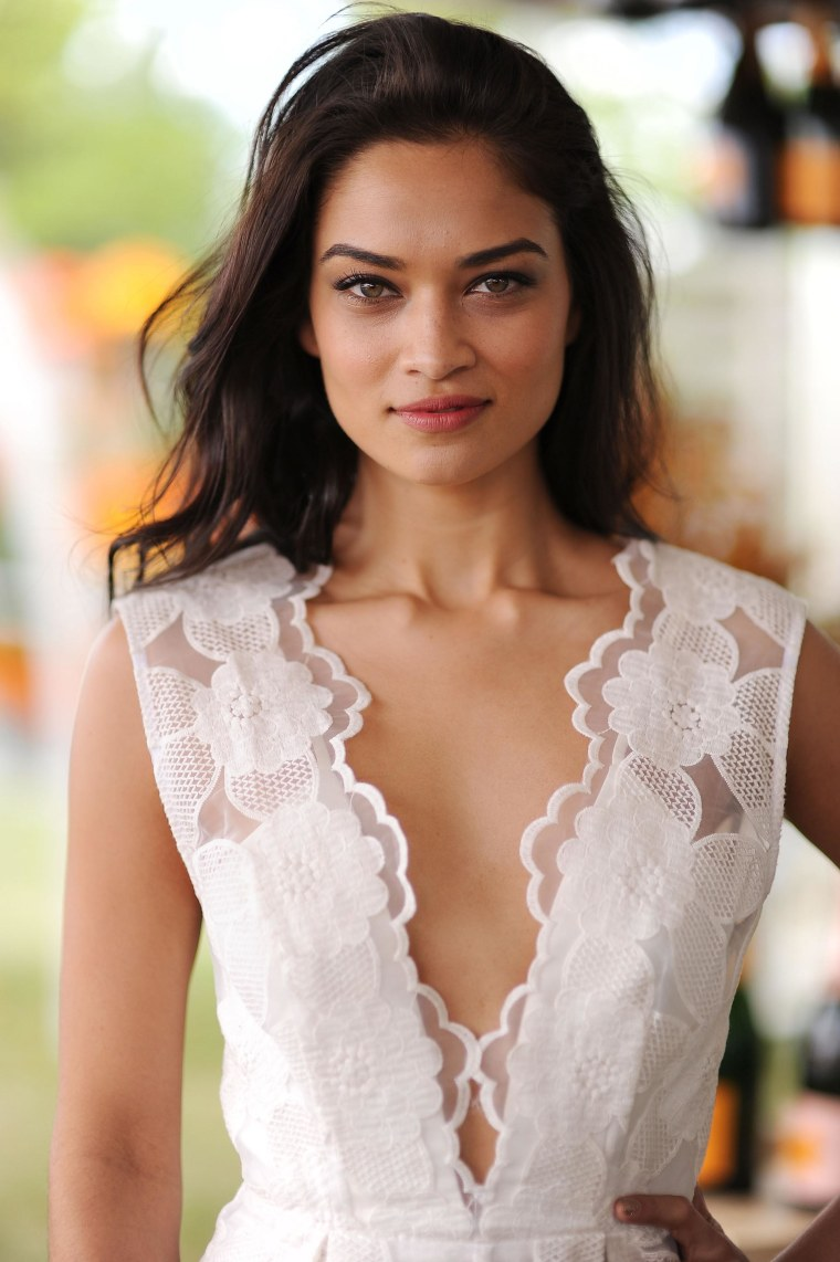 Image: Model Shanina Shaik attends the seventh annual Veuve Clicquot Polo Classic in Liberty State Park on May 31  in Jersey City.