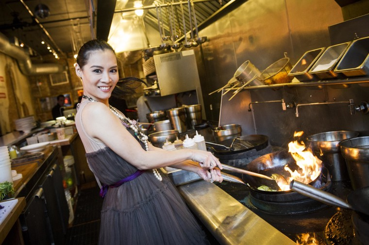 "Chef Hong Thaimee has made it her goal to share traditional Thai dishes with a modern twist to a wider audience. ""It's such an honor to be a chef and to have people come and taste my food,"" said Hong."