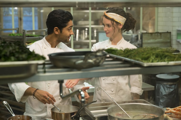 """Manish Dayal says he grew up on a steady diet of Steven Spielberg films, and was honored to have the chance to work with the iconic storyteller in """"The Hundred-Foot Journey."""" """"I got one of the coolest phone calls I've ever received last June saying, 'Steven wants to hire you',"""" Dayal said."""