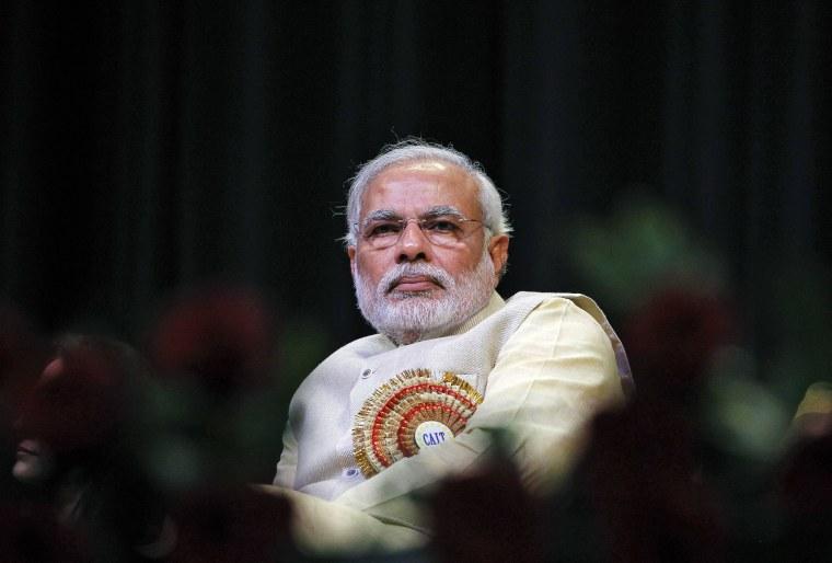Image: File photo of Hindu nationalist Narendra Modi