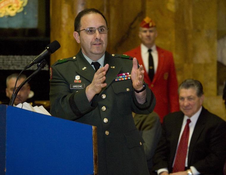 Image: Major General Harold Greene in 2010