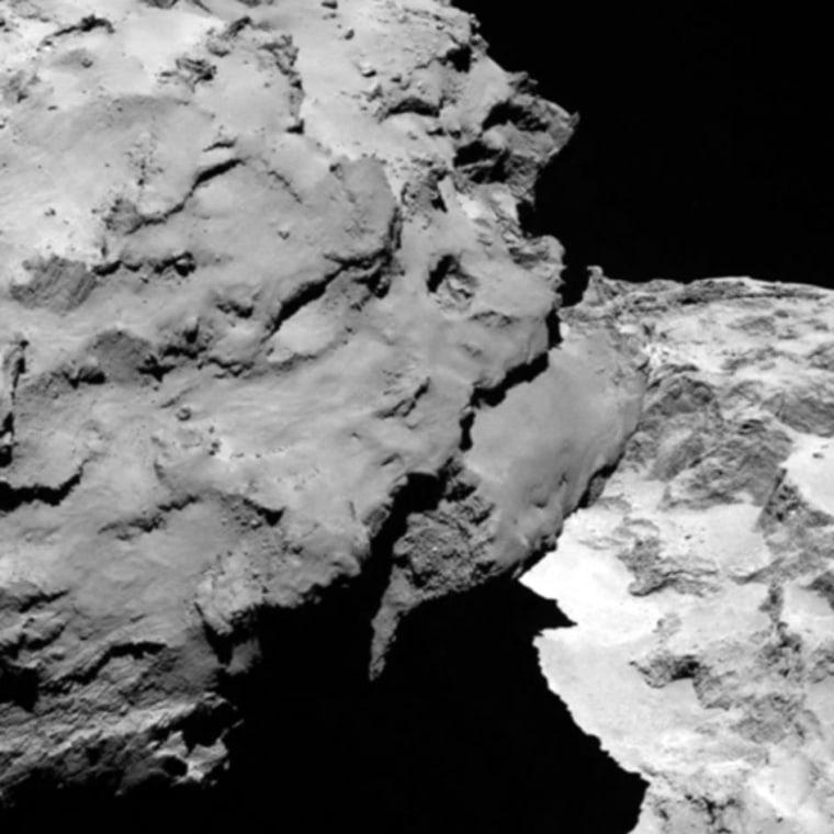 Image: Comet 67P/Churyumov–Gerasimenko