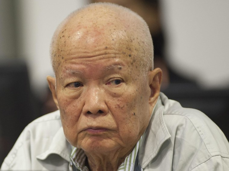 Image: Former Khmer Rouge Head of State Khieu Samphan