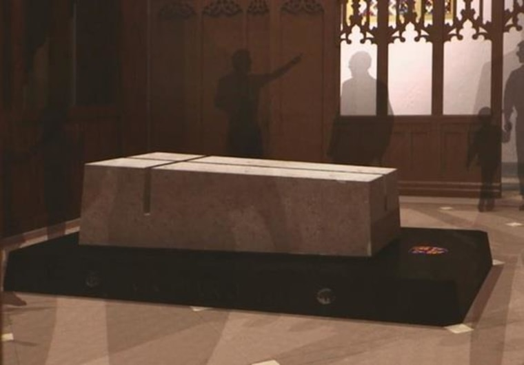 Image: Richard III's tomb