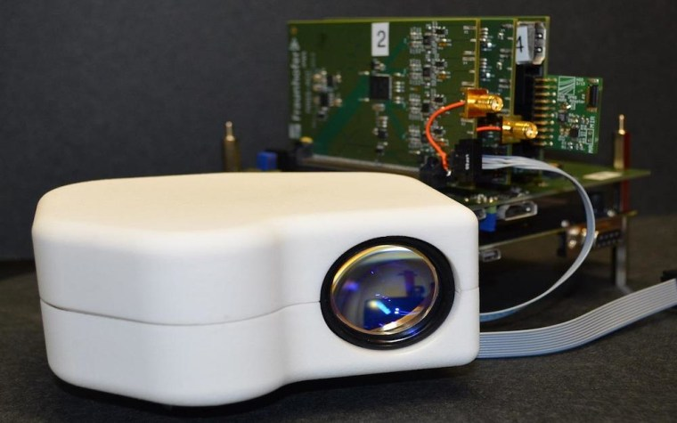 Image: Portable retina scanner