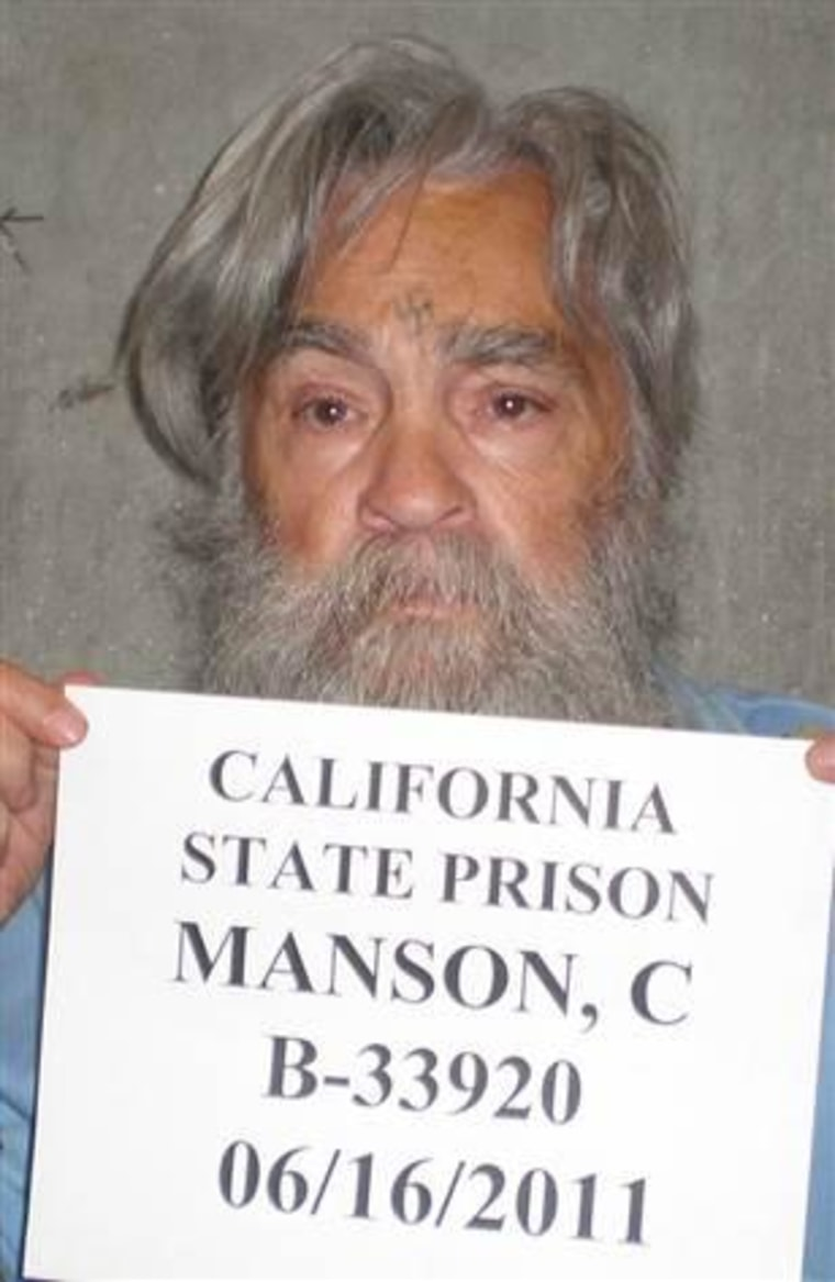 Charles Manson in 2011.