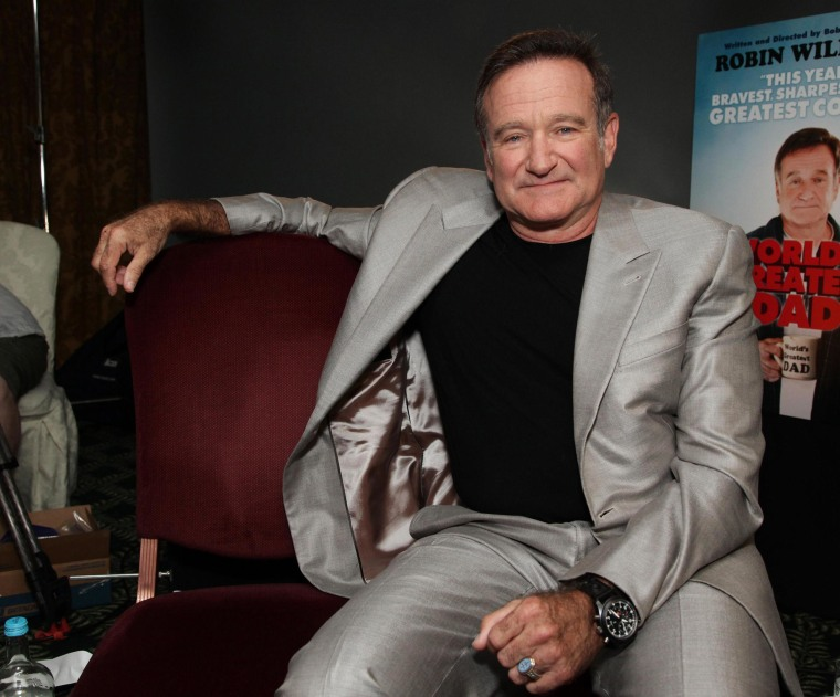 Image: Actor Robin Williams