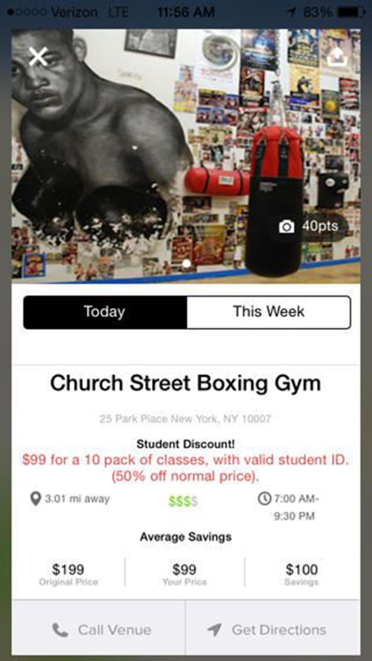 "TUN, or ""The University Network"" is a nationwide student discount app that pinpoints retail, dining, and fitness deals."