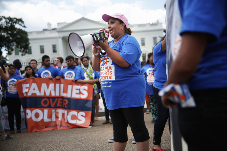 "Image: ""DREAMers"" Hold Rally On Immigration At White House"