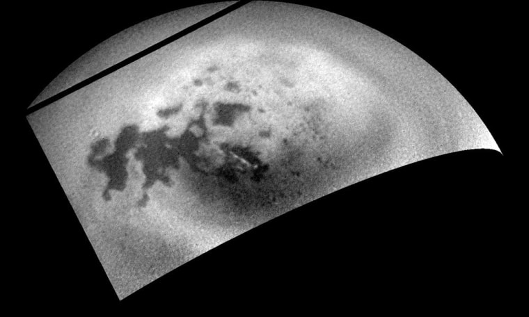 Image: Titan clouds