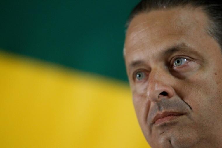 Image: Brazilian presidential candidate killed in plane crash