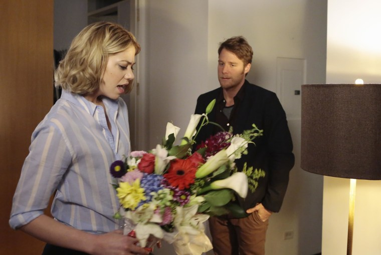 Image: Analeigh Tipton and Jake McDorman in 'Manhattan Love Story'