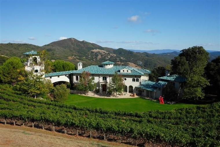 Robin Williams relisted his Napa Valley estate, which he called Villa Sorriso, or Villa of Smiles, in April.