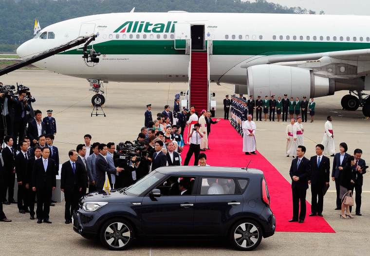 Image: Pope Francis in South Korea