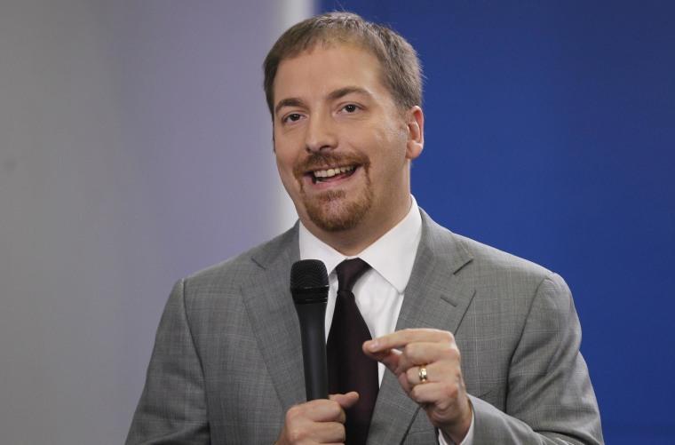 Image: NBC News' Chuck Todd