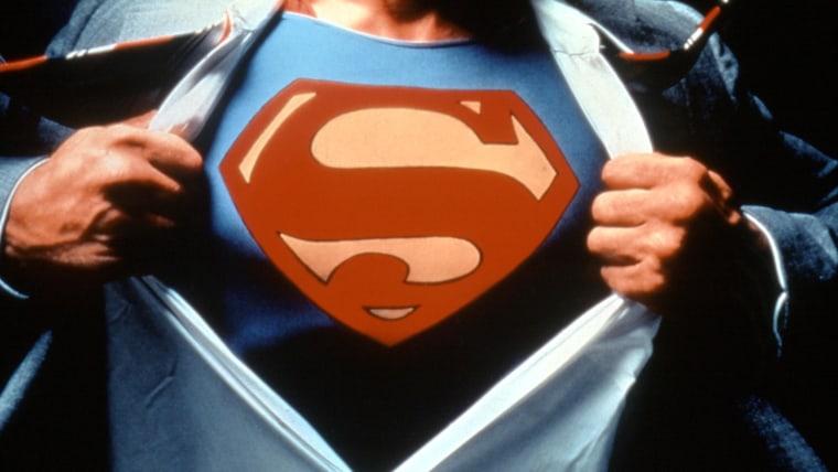 SUPERMAN, Christopher Reeve, 1978. © Warner Bros./ Courtesy: Everett Collection