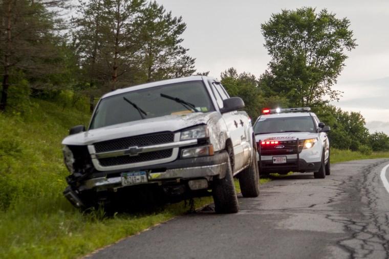 IMAGE: Edward Amelio is a deputy sheriff in rural Lewis County, N.Y.