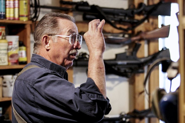 """IMAGE: Gary Marbut wrote the nation's first """"Firearms Freedom Act,"""" which challenged the federal government's authority over firearms made and kept in Montana. A federal court overturned the law."""