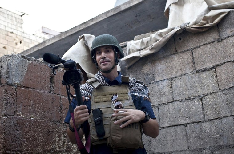 Image: James Foley in November 2012