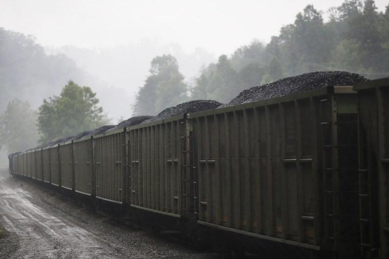 Image: CSX Transportation coal train