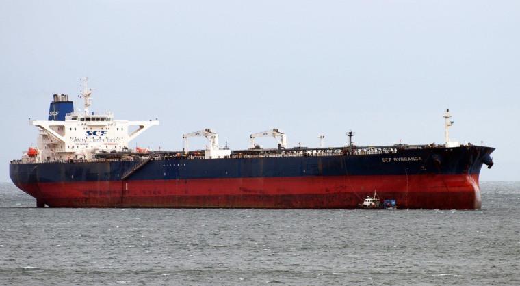 Image: The oil tanker United Kalavrvta before it was renamed