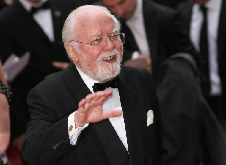 Image: FILE - British Actor And Director Richard Attenborough Dies Aged 90