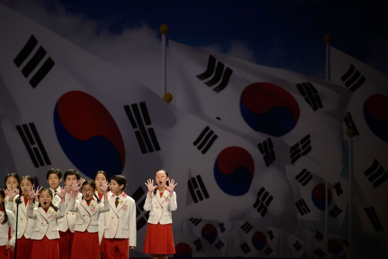 Image: SKOREA-NKOREA-JAPAN-DIPLOMACY-HISTORY