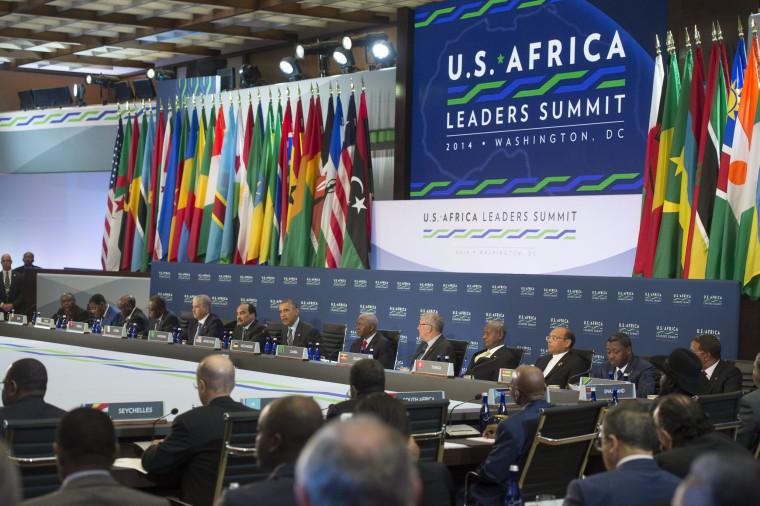 Image: US-Africa Leaders Summit