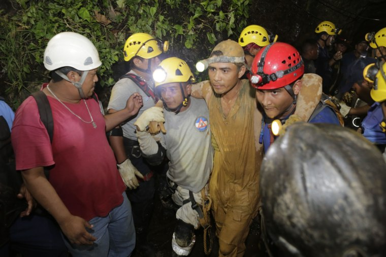 Image: Nicaragua mine rescue