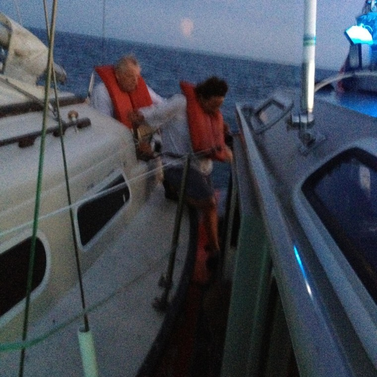 2 missing boaters found alive 10 miles northwest of Anclote Key, Fla.