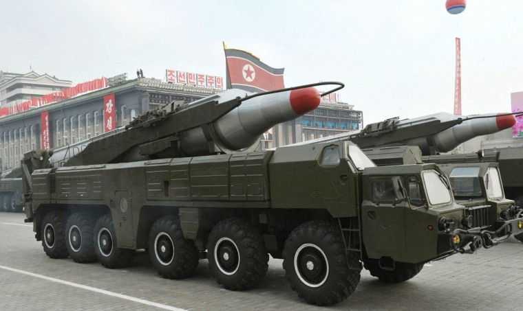Image: North Korea launches latest missiles