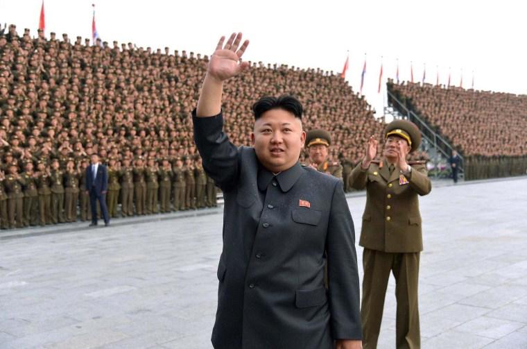 Image: NKOREA-POLITICS-KIM