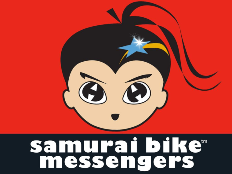 """With the tagline, """"Smart Girls, Smart Digital,"""" Kathy Hiraga wants to update archaic damsel-in-distress and boy-saves-girl story lines with Mona, the star of the """"Samurai Bike Messengers"""" digital comic series."""