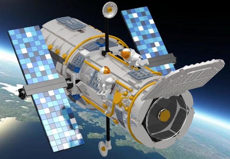 Image: Lego Hubble