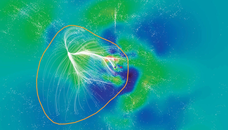 Image: Laniakea Supercluster