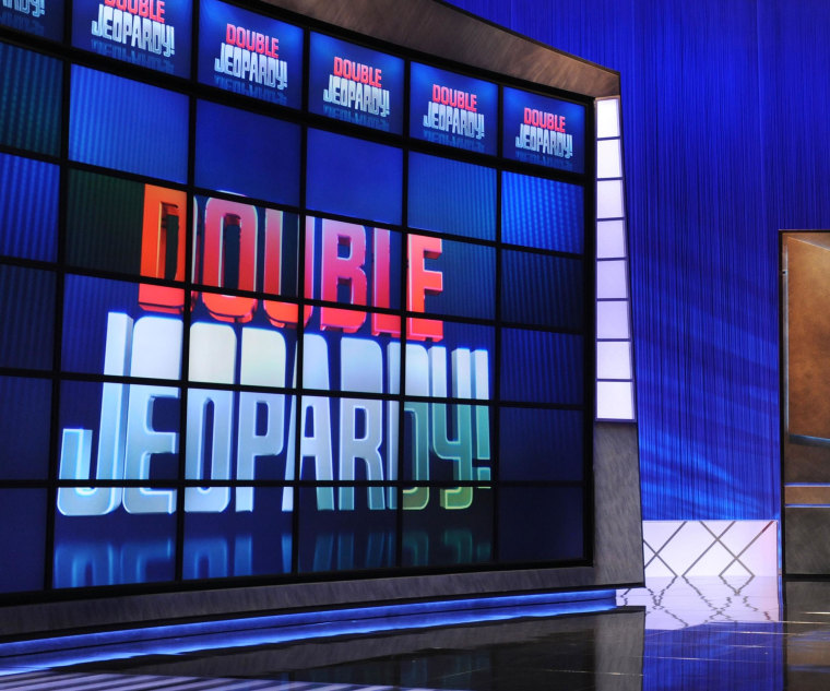 "A ""Jeopardy!"" taping on April 17, 2010, in Culver City, California."