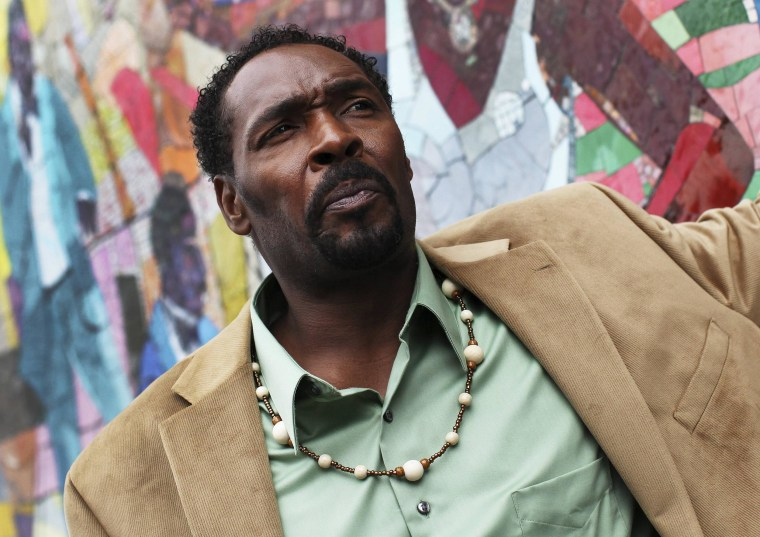 Image: Rodney King poses for a portrait in New York on April 24.