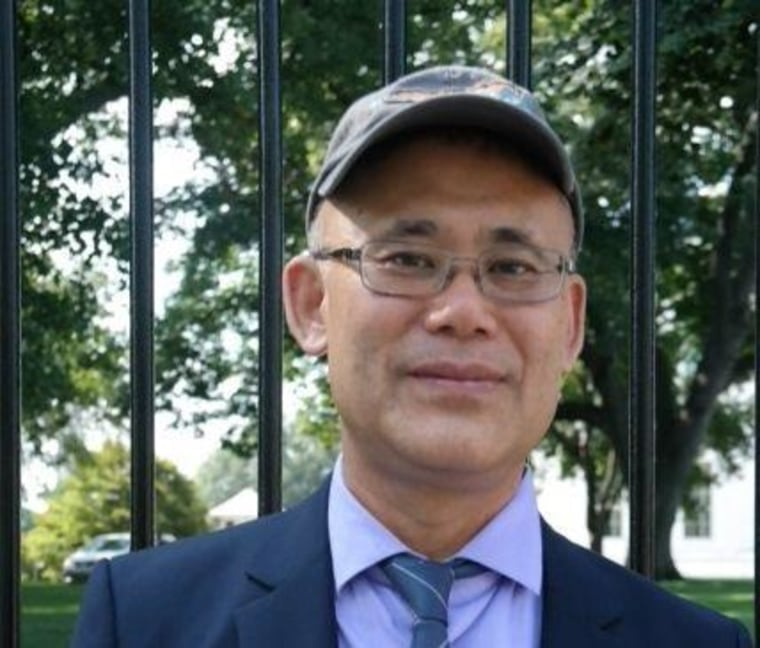 """Sang Jung's worked for 10 years in the restaurant industry as a cook before becoming a community organizer. """"Because Congress is refusing to pass the immigration reform bill, there is a huge need to have the President do whatever in his power to improve the lives of undocumented immigrants."""""""