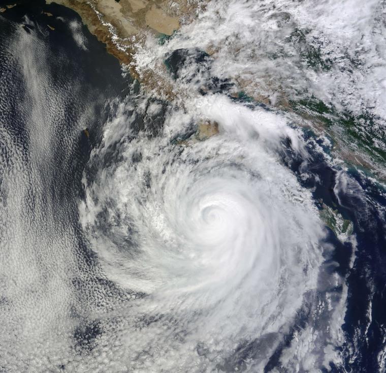 Image: Tropical Storm Norbert