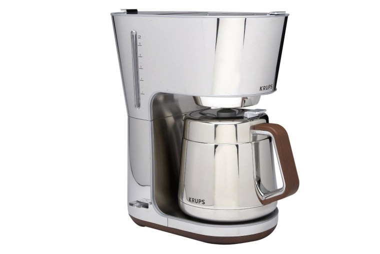 KRUPS KT600 Silver Art Collection Thermal Carafe Coffee Maker