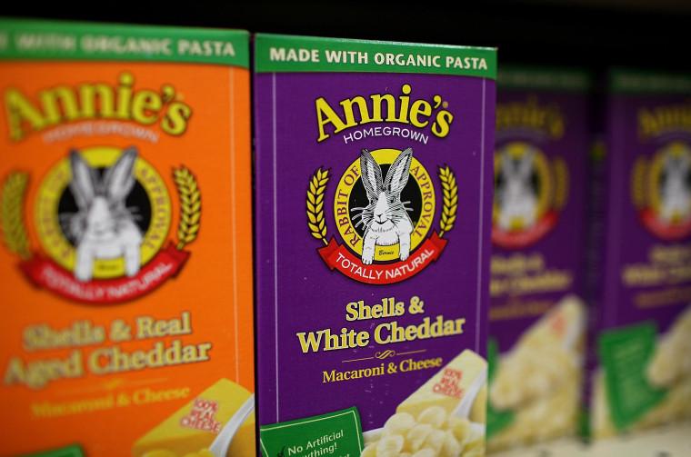 Image: FILE: General Mills To Buy Annies
