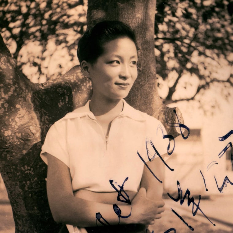 Esther Eng, the director whose story is documented in Golden Gate Girls, c 1938