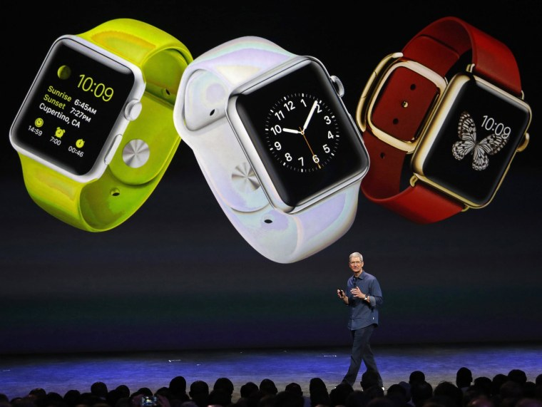 Image: Apple unveils new gadgets