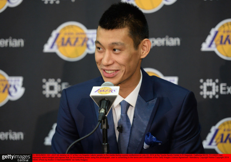Image: Jeremy Lin Press Conference