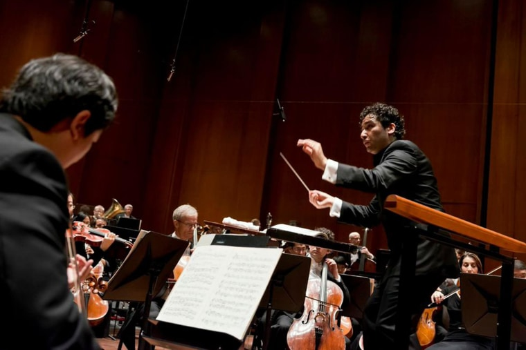 Image: Conductor Andres Orozco-Estrada is the Houston Symphony's first Hispanic Music Director.