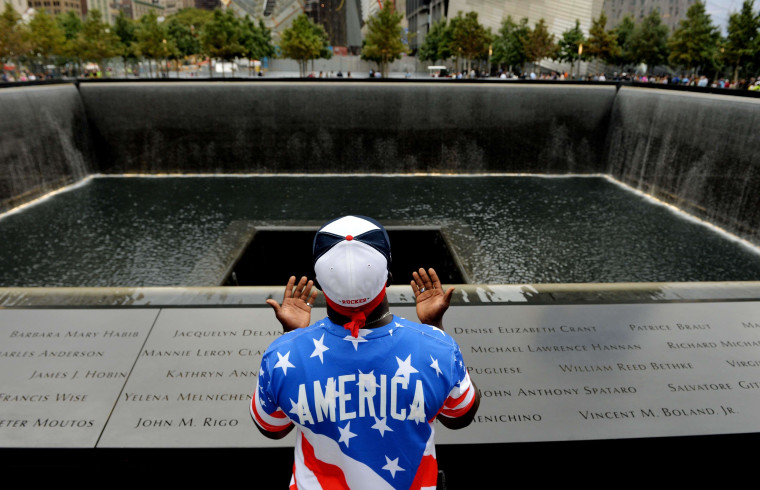 Image: TOPSHOTS-US-ATTACKS-9/11-ANNIVERSARY